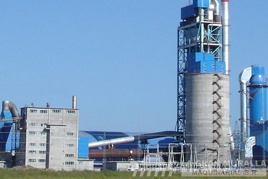 Planta de cemento de 1500 t/d