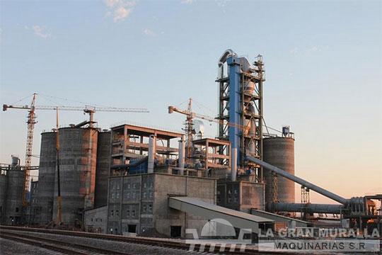 Planta de cementode 3000 t/d