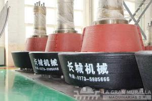 Rectificado de rodillos de molino vertical de rodillos