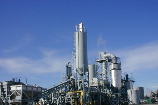 Planta del cemento de 500 t/d