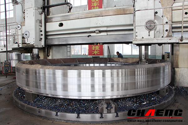 Neumático del horno rotatorio