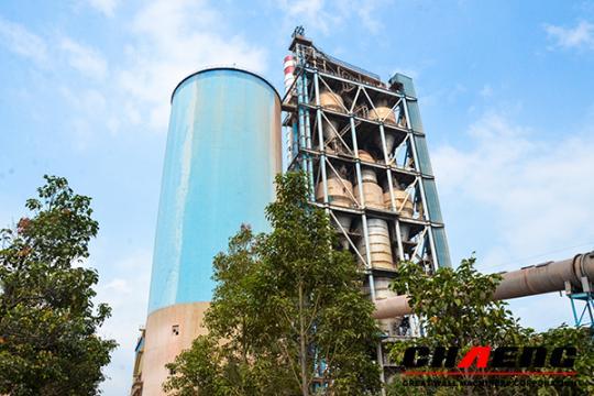 Planta de cemento de 2500 t/d